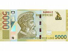 Buy NEW Albania 5000 Leke 2017 Paper Money, Banknotes. UNC