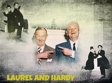 Buy LAUREL AND HARDY 3 FT X 5 FT FABRIC BANNER