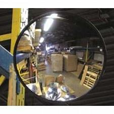 """Buy 12"""" Acrylic Convex Mirror, Round Indoor Security Mirror for the Garage Blind and"""