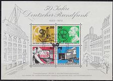 Buy GERMANY BERLIN [1973] MiNr 0455-58 Block 4 ( Sonder-O/used ) [01]