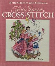 Buy 1990 Better Homes Four Seasons Cross Stitch Book Patterns Graphs For Dog Charity