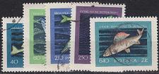 Buy POLEN POLAND [1958] MiNr 1051-55 ( O/used ) Fische
