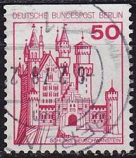 Buy GERMANY BERLIN [1977] MiNr 0536 C ( O/used ) Burgen Schlösser