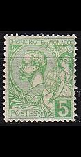 Buy MONACO [1901] MiNr 0022 ( */mh )