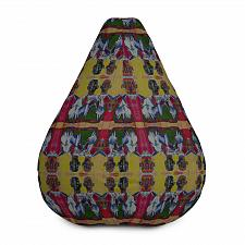 Buy All-Over Print Bean Bag Cover Look Pleasant