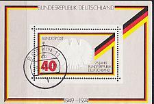 Buy GERMANY BUND [1974] MiNr 0807 Block 10 ( O/used )