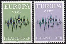 Buy ISLAND ICELAND [1972] MiNr 0461-62 ( **/mnh ) CEPT