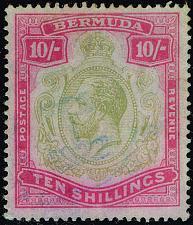Buy Bermuda #53 King George V; Used (1Stars) |BER0053-02XVK