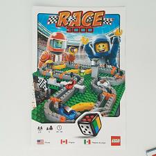 Buy Lego Race 3000 Board Game 3839 Game Rules Instruction Manual Replacement Part