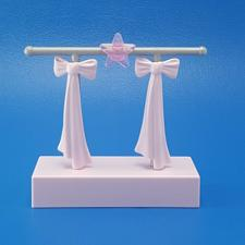 Buy Playmobil Fashion Store 9113 Pink Clothing Clothes Rack Boutique Pink Bows Star