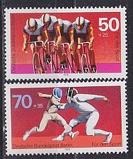 Buy GERMANY BERLIN [1978] MiNr 0567-68 ( **/mnh ) Sport