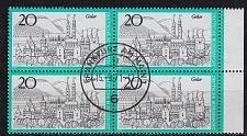 Buy GERMANY BUND [1971] MiNr 0704 4er ( O/used ) [01] Ersttag-O