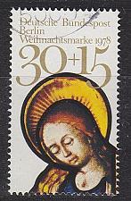 Buy GERMANY BERLIN [1978] MiNr 0581 ( O/used ) Weihnacht