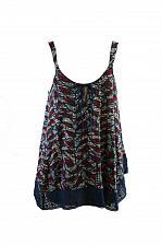 Buy Lucky Brand Women`s Handkerchief-Hem Knit Blouse