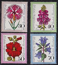 Buy GERMANY BUND [1974] MiNr 0818-21 ( **/mnh ) Blumen