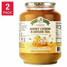Buy Vonbee Honey Citron and Ginger Tea 4.4 lb 2-pack