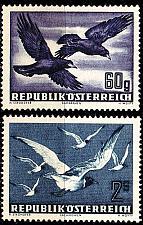 Buy ÖSTERREICH AUSTRIA [1950] MiNr 0955-56 ( **/mnh ) Tiere
