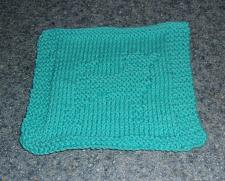Buy Brand New Hand Knit Chihuahua Dog Blue Dish Cloth For Dog Rescue Charity