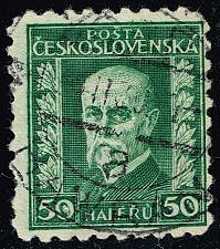Buy Czechoslovakia #128 President Masaryk; Used (2Stars) |CZE0128-08XRS