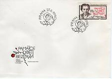 Buy CZECHOSLOVAKIA - 11990 The 40th Anniversary of Execution of Milada H FDC7740