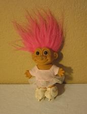 "Buy Russ troll doll Figure skater- ice ballerina tutu 4.5"""