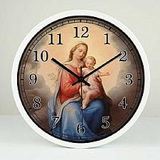 Buy Religion Holy Mother and Jesus 12-inch Wall Clock