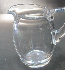 Buy Crystal pitcher Ground and polished base