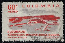 Buy Colombia #C356A Eldorado Airport; Used (3Stars) |COLC0356A-02XRS
