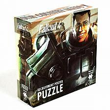Buy Fallout 4 Recruitment Poster 550pc Puzzle Fun Games Gaming Jigsaw