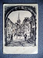 Buy Old Postcard from Germany. Lithography of R. Reimesch, No. 15. Very Rare.