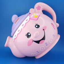 Buy Fisher Price Laugh Learn Say Please Tea Pot 2008 Play Songs Pink N7121