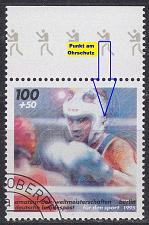 Buy GERMANY BUND [1995] MiNr 1779 F4,I ( O/used ) [01] Sport Plattenfehler
