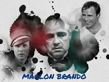 Buy MARLON BRANDO 3 FT X 5 FT FABRIC BANNER