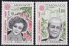 Buy MONACO [1980] MiNr 1421-22 ( **/mnh ) CEPT