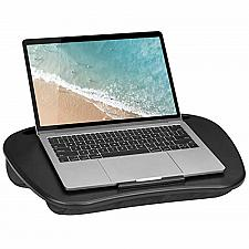 Buy LapGear Mydesk Lap Desk with Device Ledge and Phone Holder - Black - Fits Up to