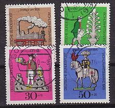 Buy GERMANY BUND [1969] MiNr 0604-07 ( O/used )