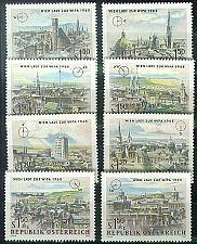 Buy ÖSTERREICH AUSTRIA [1964] MiNr 1164-71 ( **/mnh ) Architektur