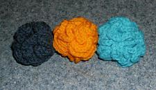 Buy Three New Handmade Crochet Brain Ball Cat Toys For Cocker Spaniel Rescue Charity