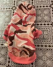 Buy Duo Duo JI Pink Camo Dog Shirt EXTRA SMALL Size 8 For Dog Rescue Charity