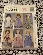Buy McCalls Crafts Pattern 2609 Clothing For 18 Inch Doll Complete Uncut For Charity