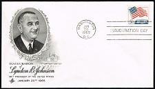 Buy Lyndon B. Johnson ArtCraft Cachet Inauguration Day Cover |USACVRLOT-23XDP