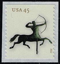 Buy US #4617 Centaur Weathervane; MNH (5Stars)  USA4617-02
