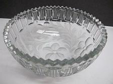 Buy ABP cut glass bowl American brilliant blown blank intaglio