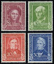 Buy Germany #B310-B313 Helpers of Mankind Set of 3; MNH (4Stars) |DEUB0313set-01XDP