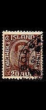 Buy ISLAND ICELAND [1921] MiNr 0101 ( O/used )