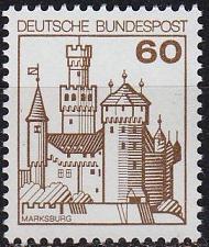 Buy GERMANY BUND [1977] MiNr 0917 ( **/mnh ) Bauwerke