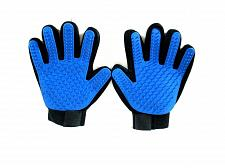Buy Pet Grooming Gloves 1 Pr Adjustable Brush Dog Cat Hair Remove Deshedding Massage
