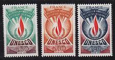 Buy FRANKREICH FRANCE [Unesco] MiNr 0013-15 ( **/mnh )