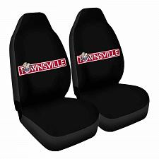 Buy Townsville Car Seat Covers Nerdy Geeky Pop Culture Set of 2 Front Seat