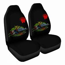 Buy z0mbie pikachu Car Seat Covers Nerdy Geeky Pop Culture Set of 2 Front Seat
